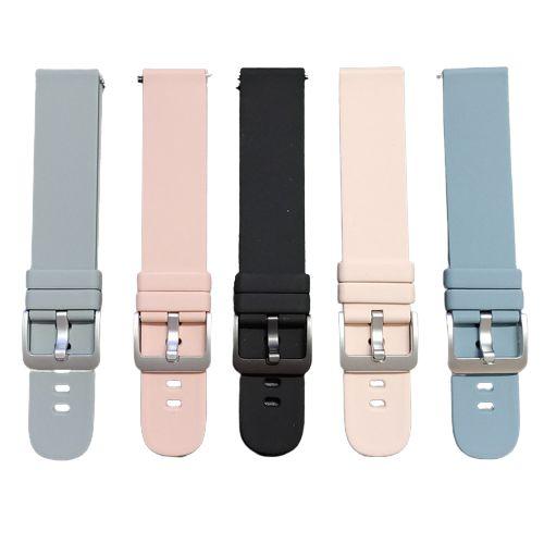 Pulseira de Silicone 20mm para Smartwatch Morefit Pro