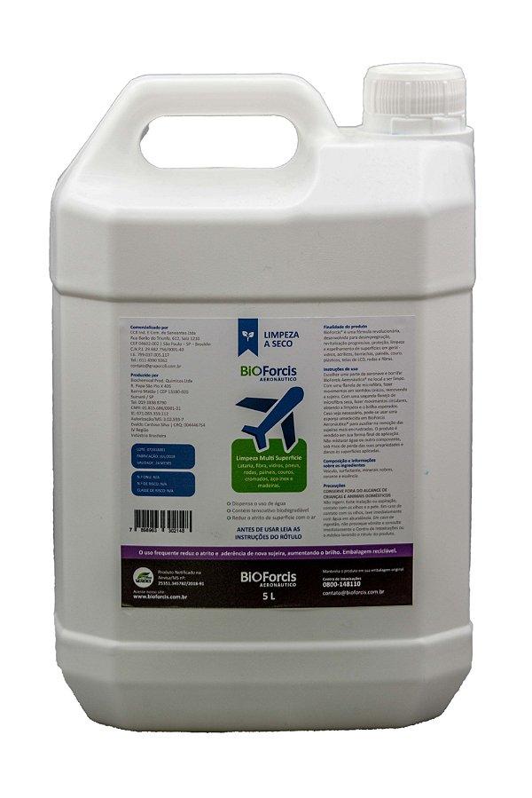 Produto de Limpeza Aeronáutica a Seco BioForcis 5 litros