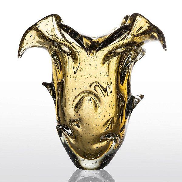 Vaso de Decoração em Murano - Ambar - Tam P - Shadow