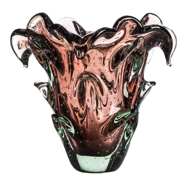 Vaso de Decoração em Murano - Vintage Rose - Tam M - Shadow