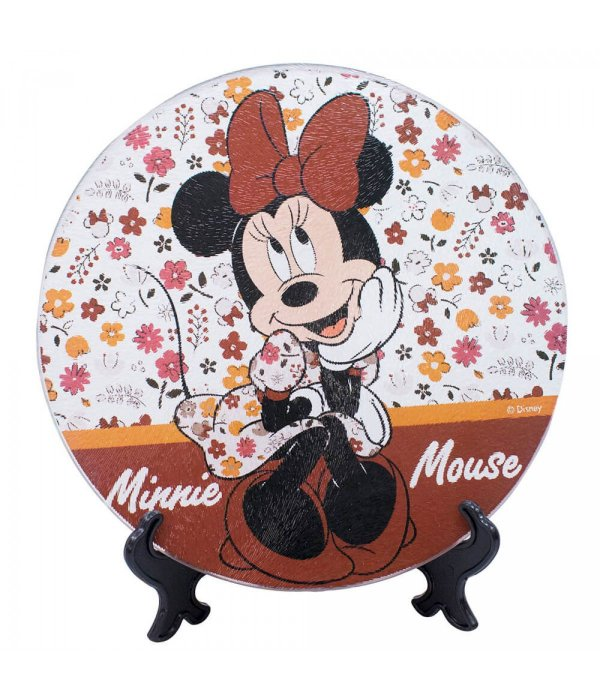 Suporte de Panela Vidro Minnie Mouse  Disney