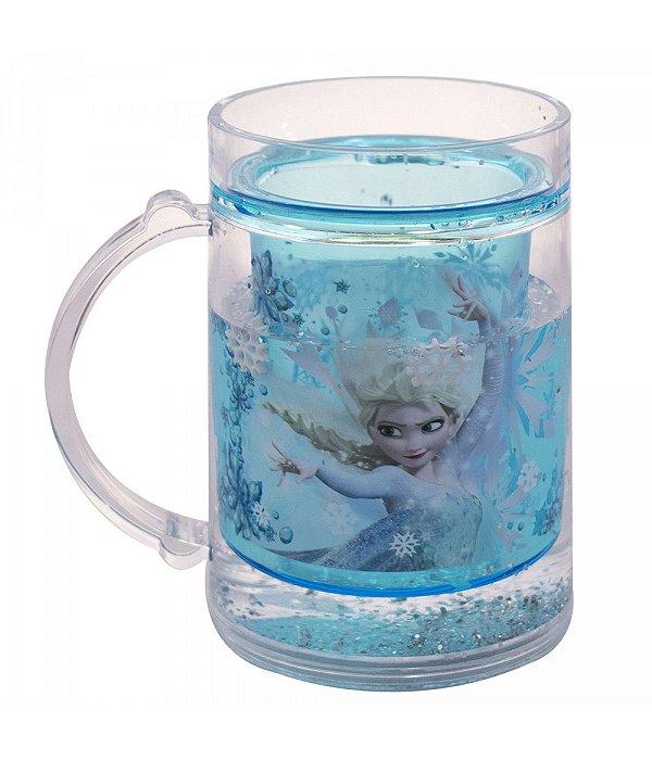 Disney Caneca Azul Líquido Elsa Frozen 250ml