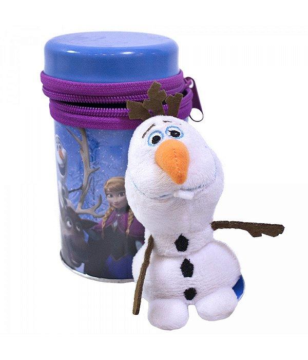 Disney Chaveiro Boneco Olaf Na Lata Frozen