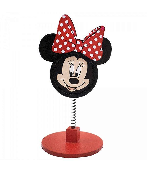 Porta Recado de Rostinho Minnie Mouse Disney