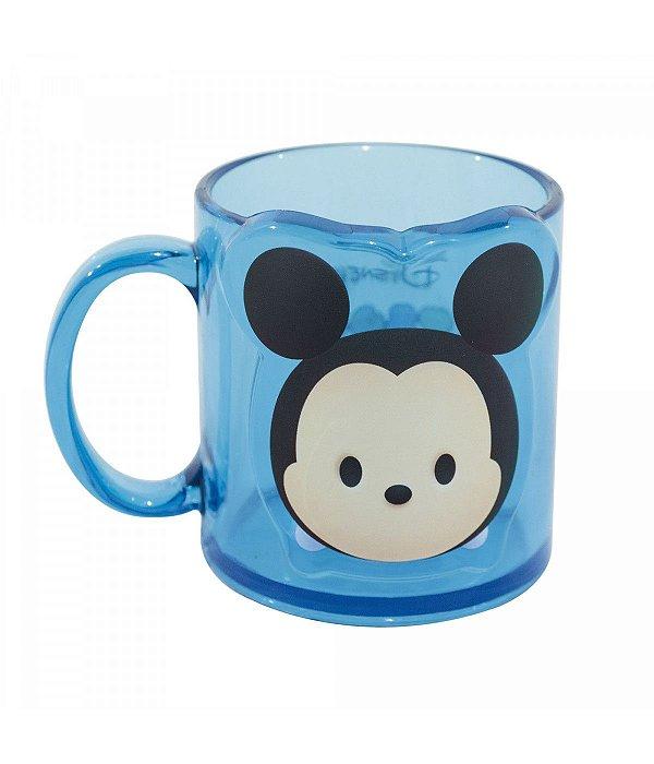 Caneca Azul Mickey Mouse versão Tsum Tsum  - Disney 250ml