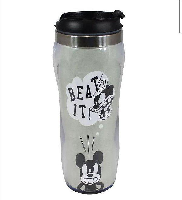 Copo para Viagem Silhueta Mickey Mouse Disney