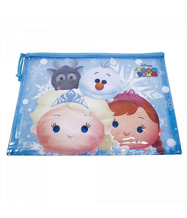 Pasta Necessaire Anna Elsa & Olaf Frozen Tsum  Disney