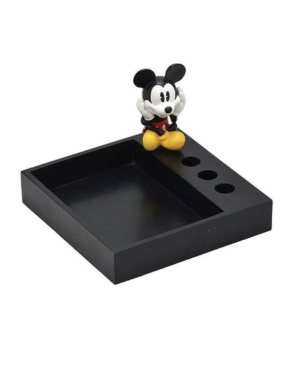 Porta Bloco De Notas Canetas Mickey Mouse Disney
