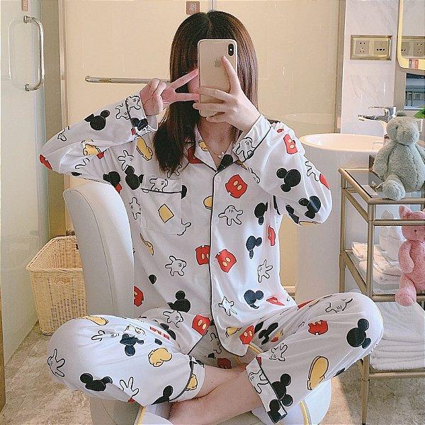 Pijama Mickey Mouse elementos