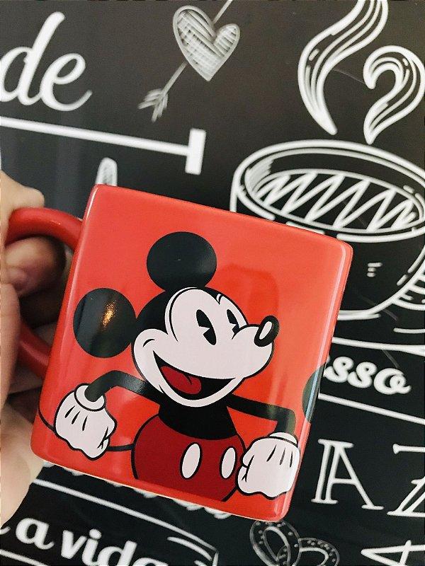 Caneca Minnie e Minnie Mouse cerâmica 300 ml Disney