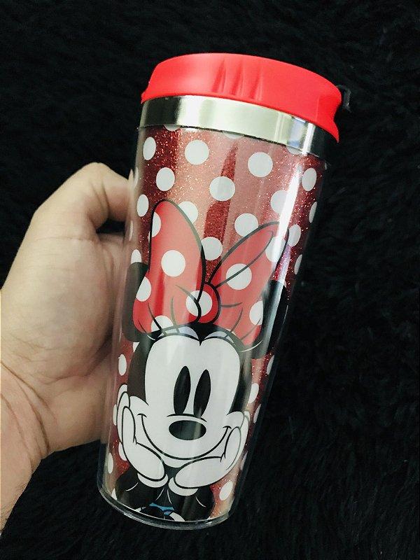 Copo viagem Minnie Mouse 450 ml Disney