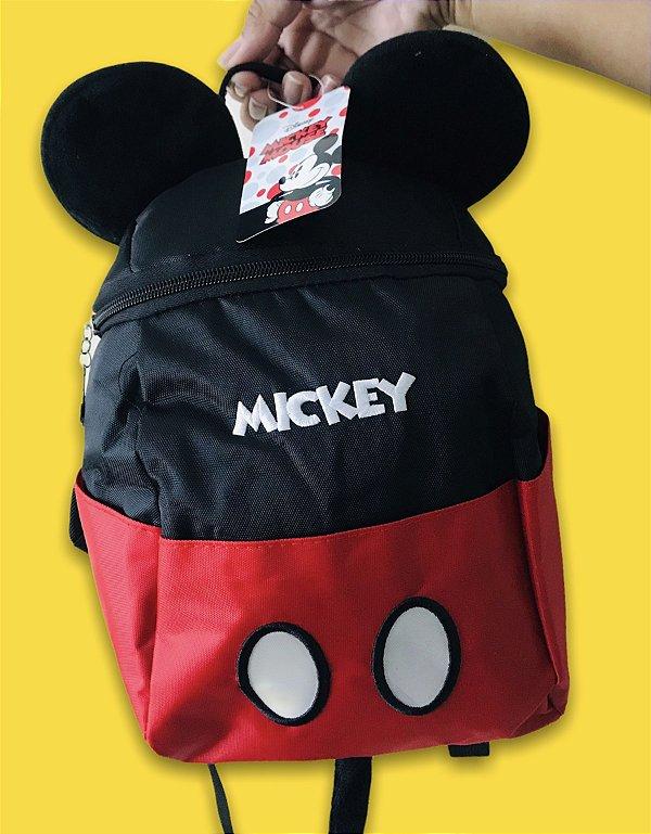 Mochilinha Mickey Mouse Orelhinhas