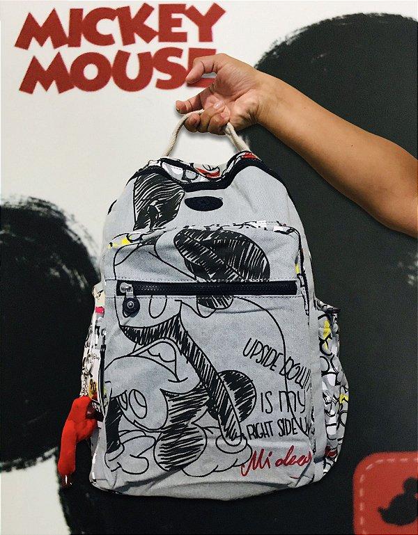 Mochila Mickey Mouse kipling 90 Anos