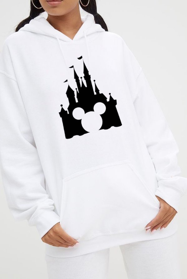 Moletom Mickey Mouse castelo