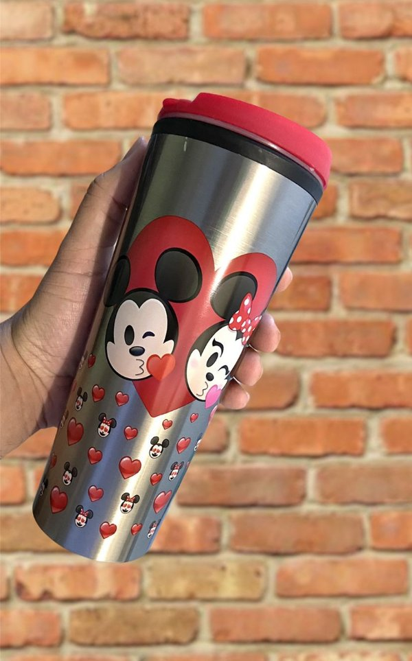 Copo Mickey e Minnie Tsum baby Disney