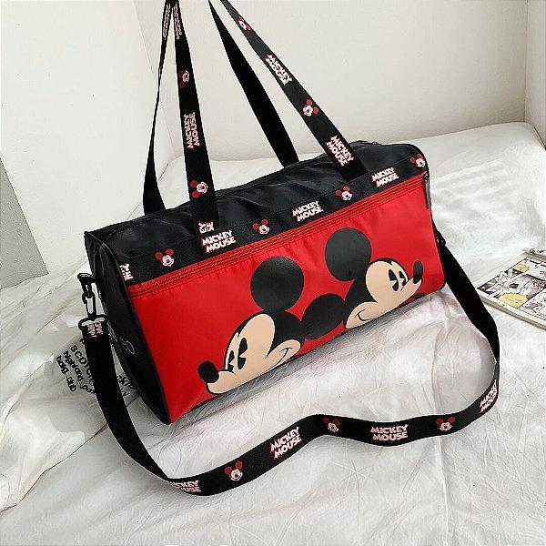 Bolsa de viagem Mickey Mouse faces