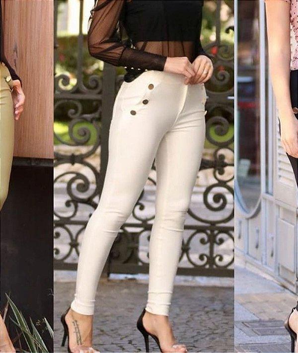 Calça Skinny Tecido Ami