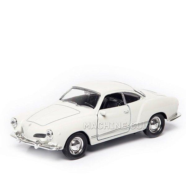 Volkswagen Karmann Guia Coupe Branco - 1:32