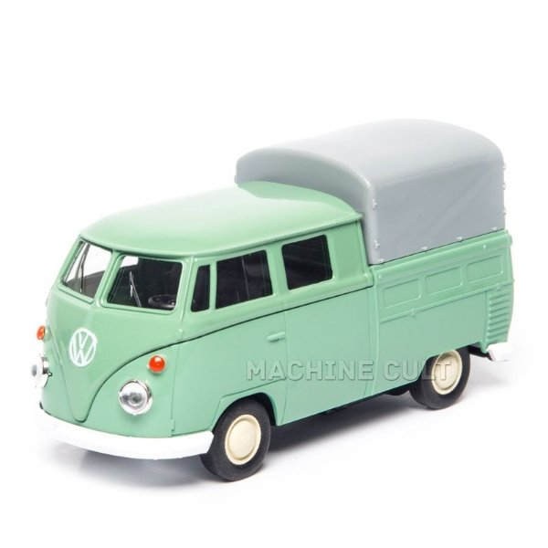 Perua Kombi Pickup Cabine Dupla Verde - 1:43
