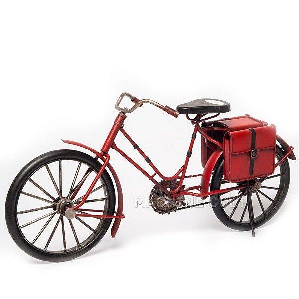 Miniatura Bicicleta com Alforges