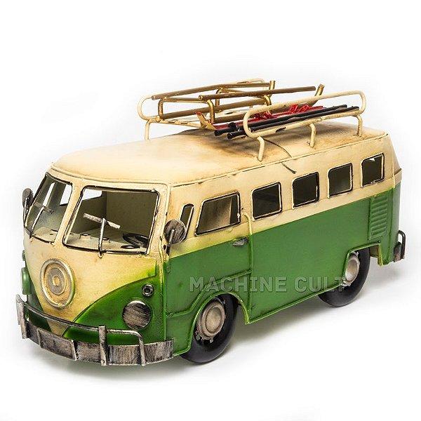 Miniatura Kombi Verde Retrô