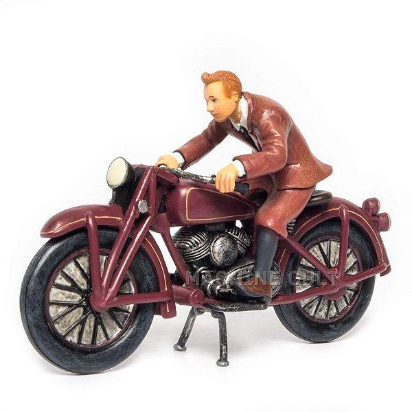 Miniatura Tintin Moto