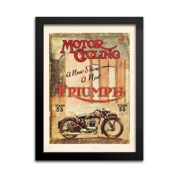 Quadro Decorativo Triumph Motorcycle