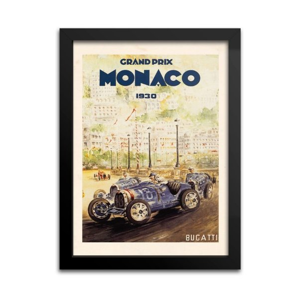 Quadro Decorativo Grand Prix Monaco