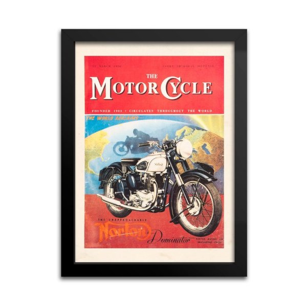 Quadro Decorativo Norton Motorcycle