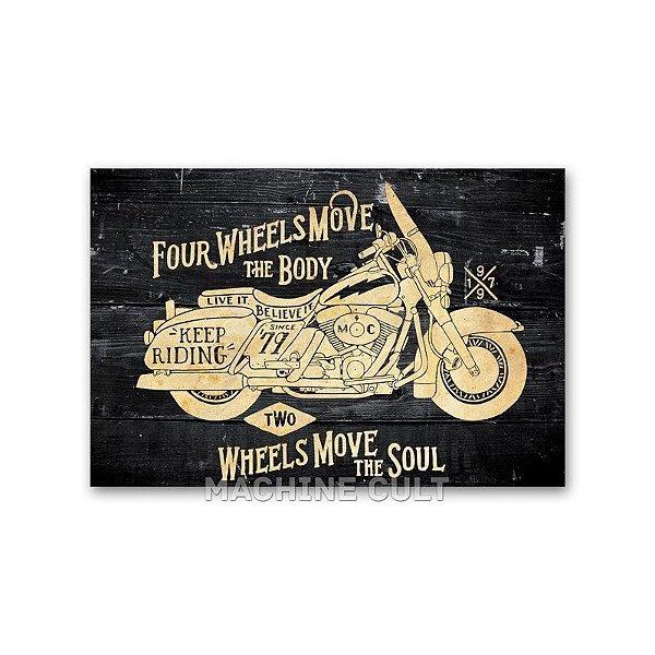 Cartão Postal Moto Harley-Davidson