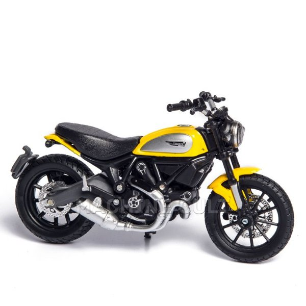 Miniatura Ducati Scrambler - Maisto 1:18