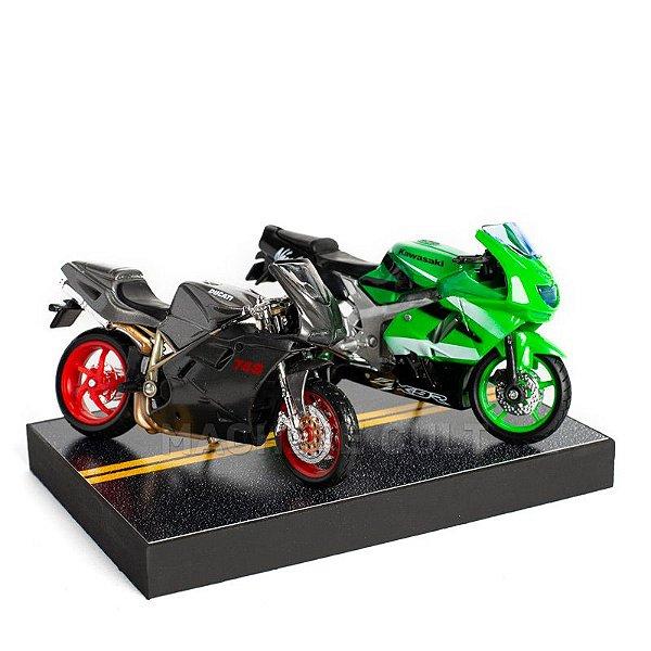Kit de Miniaturas Moto Esportiva Speed - Box 11