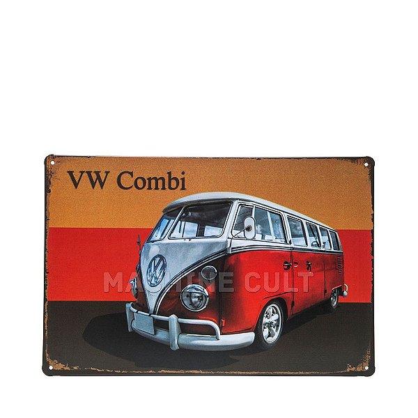 Placa em Metal VW