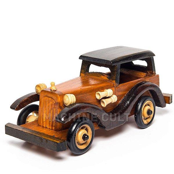 Carro de Madeira Decorativo - REF 04