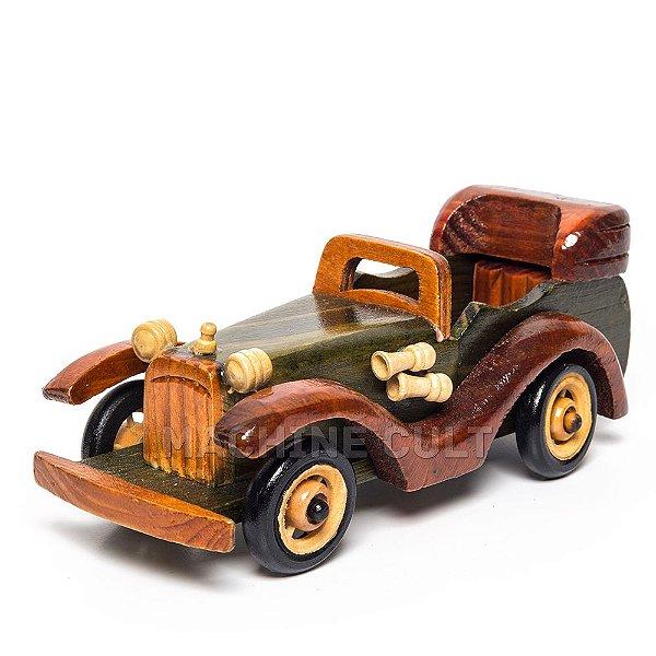 Carro de Madeira Decorativo - REF 01