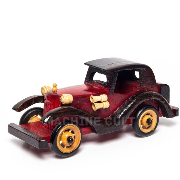 Carro de Madeira Decorativo - REF 03