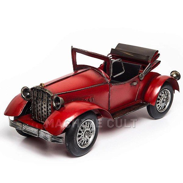 Miniatura Carro Conversível Vermelho