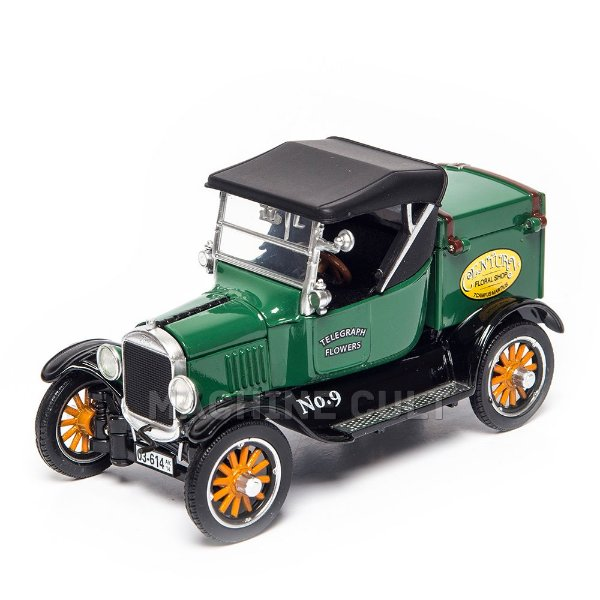 Miniatura Ford 1920 Model T Cargo Van 1:32 Unique Replica