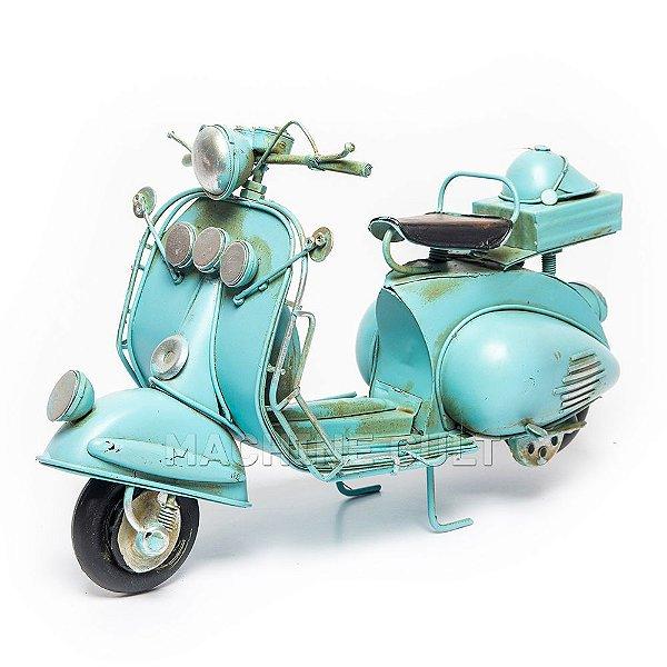Lambretta Azul Decorativa
