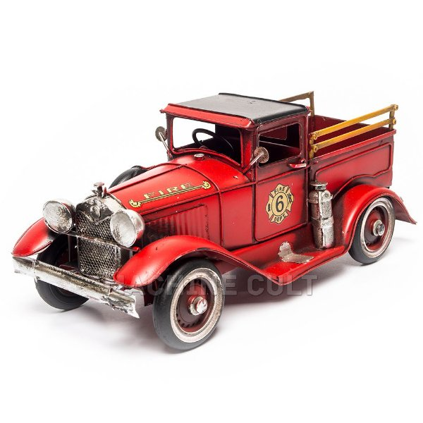 Miniatura Carro Bombeiro Antigo