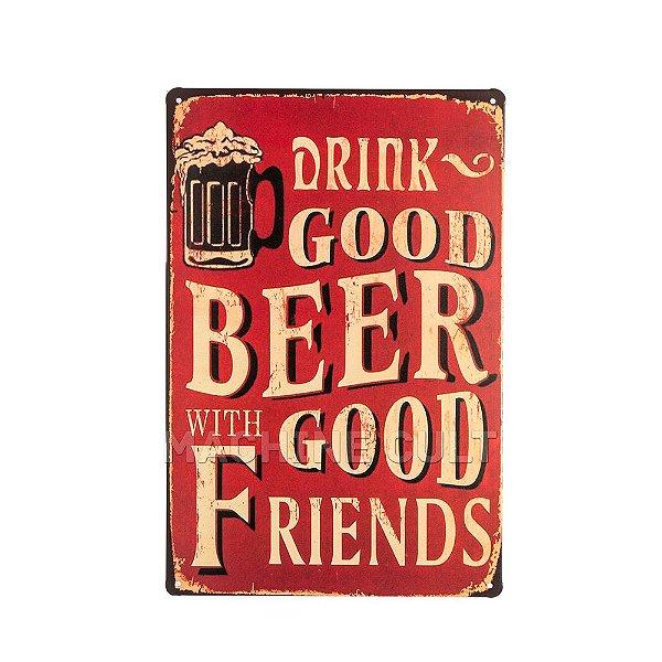 Placa Decorativa Cerveja M2