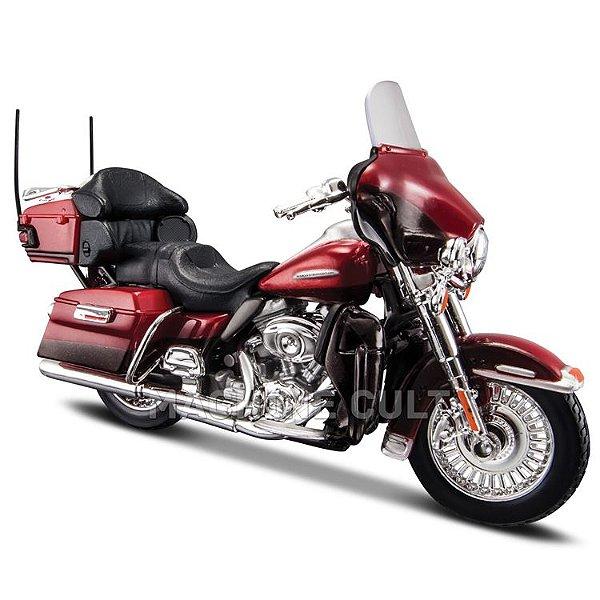 Miniatura Harley-Davidson 2013 FLHTK Electra Glide Ultra Limited - Maisto 1:18