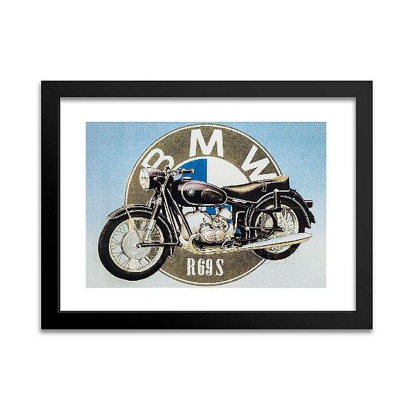 Quadro Moto BMW R69S