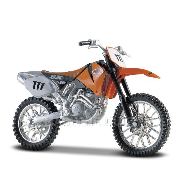 Miniatura KTM 520SX - Maisto 1:18