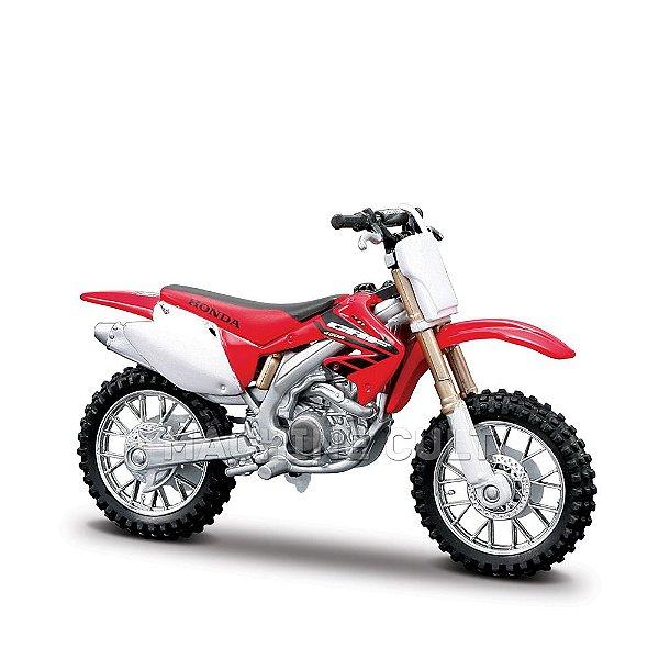 Miniatura Honda CRF450R - Burago 1:18