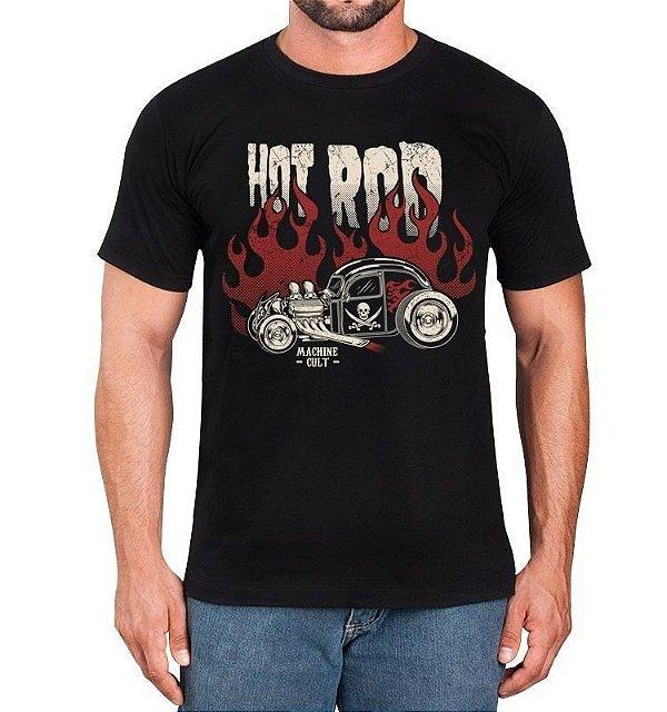 Camiseta Carro Hot Rod