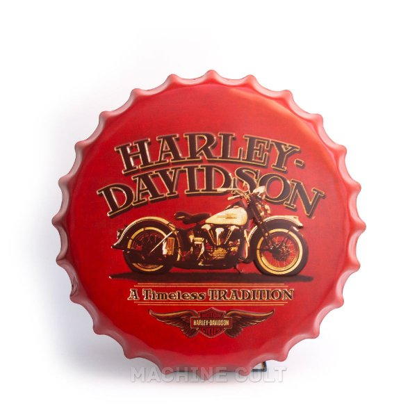 Placa Harley-Davidson M7 - Alto Relevo
