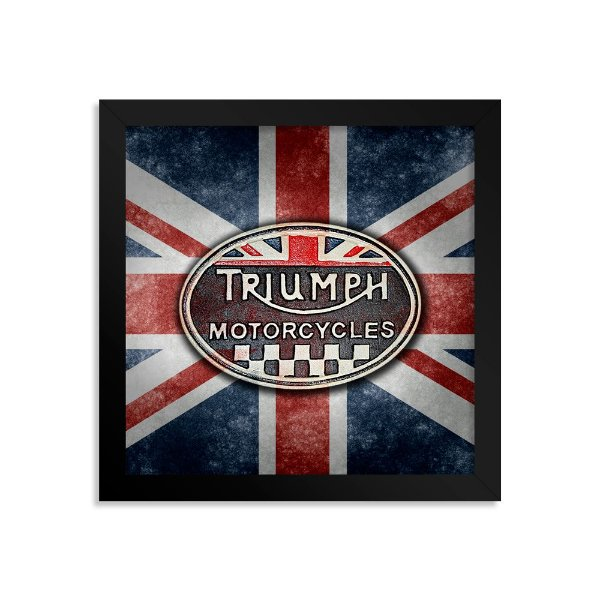 Quadro Decorativo Triumph Motorcycle UK