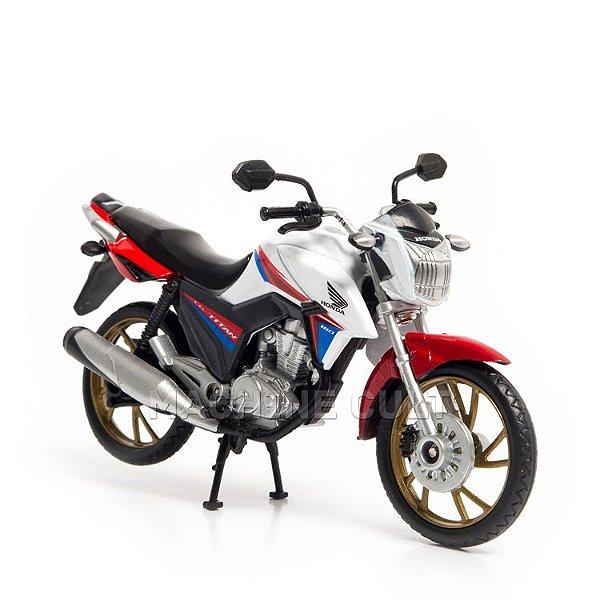 Miniatura Honda CG Titan 160cc - 40 anos CG Brasil