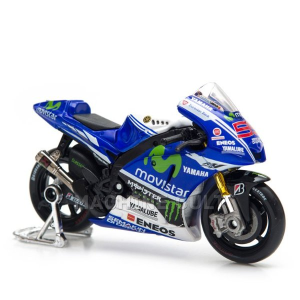 Miniatura Yamaha Moto GP - Jorge Lorenzo - Maisto 1:18